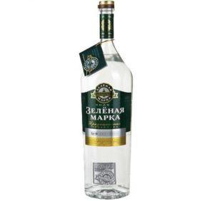 """Бутылка """"Зеленая марка"""""""